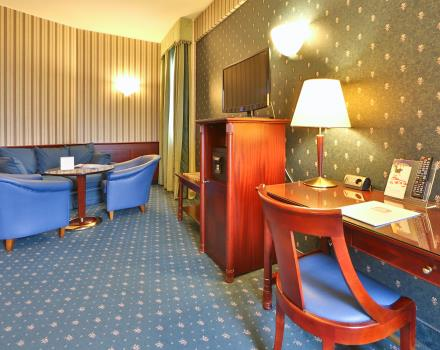 Looking for hospitality and top services for your stay in Milan? Choose Best Western Antares Hotel Concorde