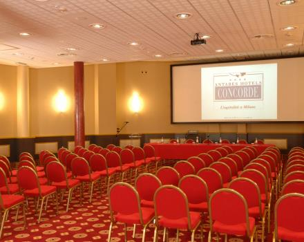 Do you have to organize an event? Are you looking for a meeting room in Milan? Discover the Best Western Antares Hotel Concorde