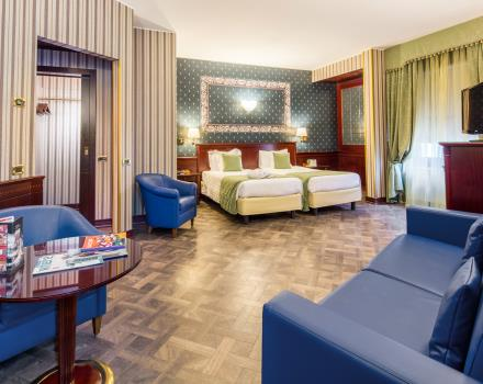 Family Room-Best Western Antares Hotel Concorde Milan 4 star
