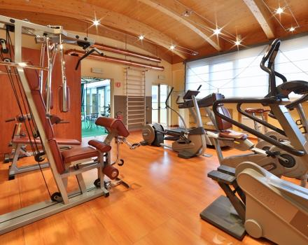 Keep fit during your stay in Milan thanks to BW's gym Antares Hotel Concorde!