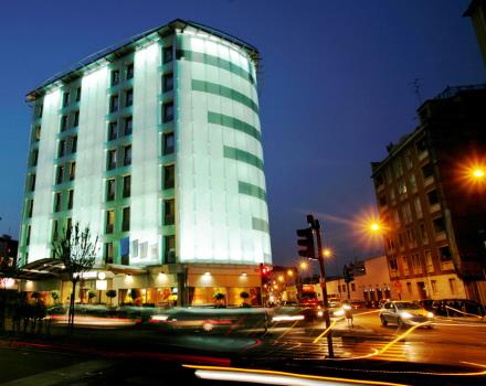 Visit Milan and stay at  the BEST WESTERN Antares Hotel Concorde