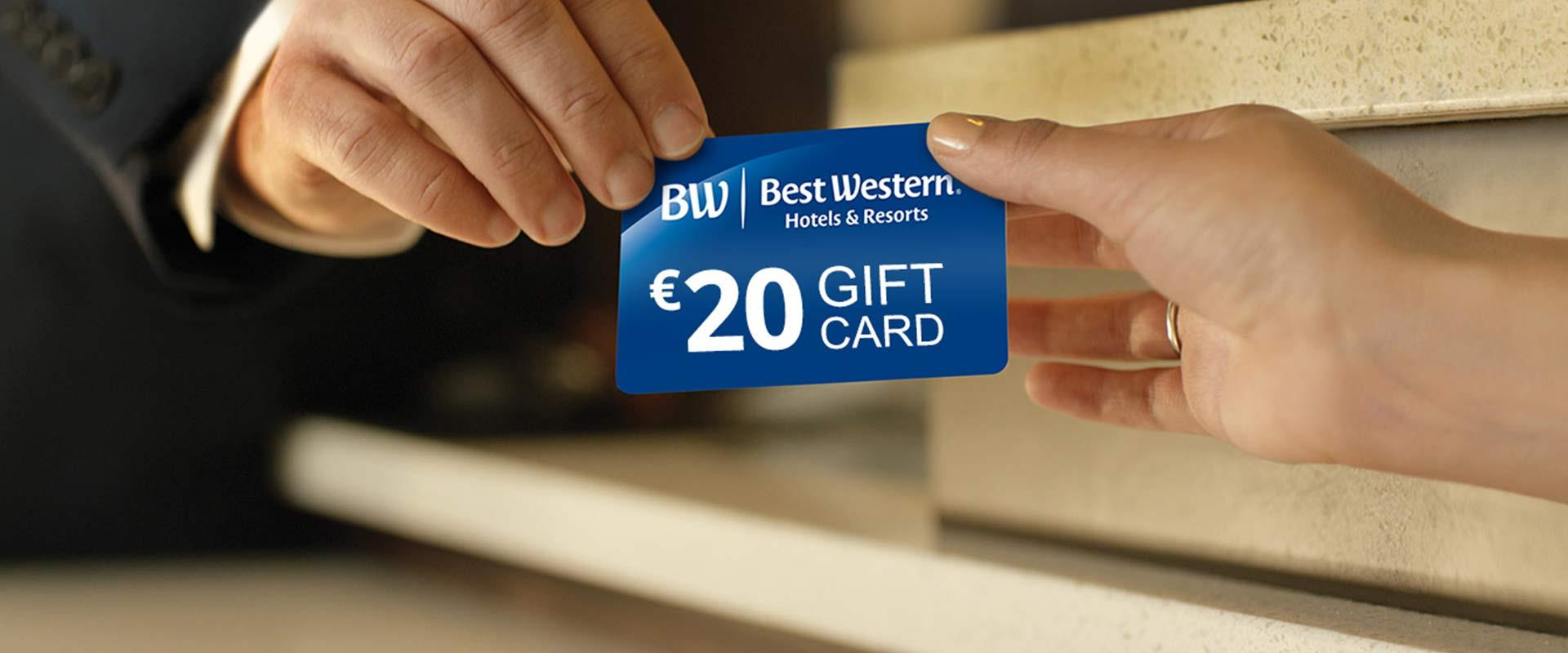 Per te una gift card da 20 euro con la Global Summer Promotion