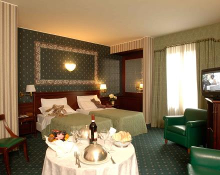 Discover the comfortable rooms at the Best Western Antares Hotel Concorde in Milan