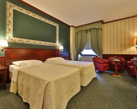 Looking for service and hospitality for your stay in Milan? book/reserve a room at the Best Western Antares Hotel Concorde