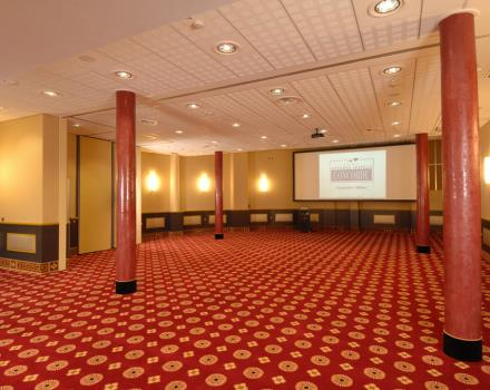 Discover the conference rooms in the Best Western Antares Hotel Concorde and organize your events in Milan